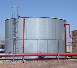 abeco water steel tanks