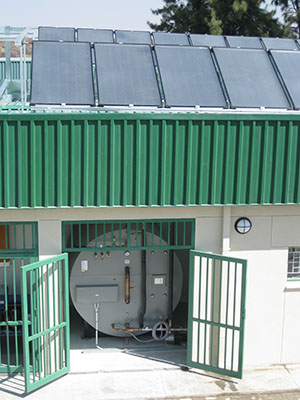 solar water heating systems commercial