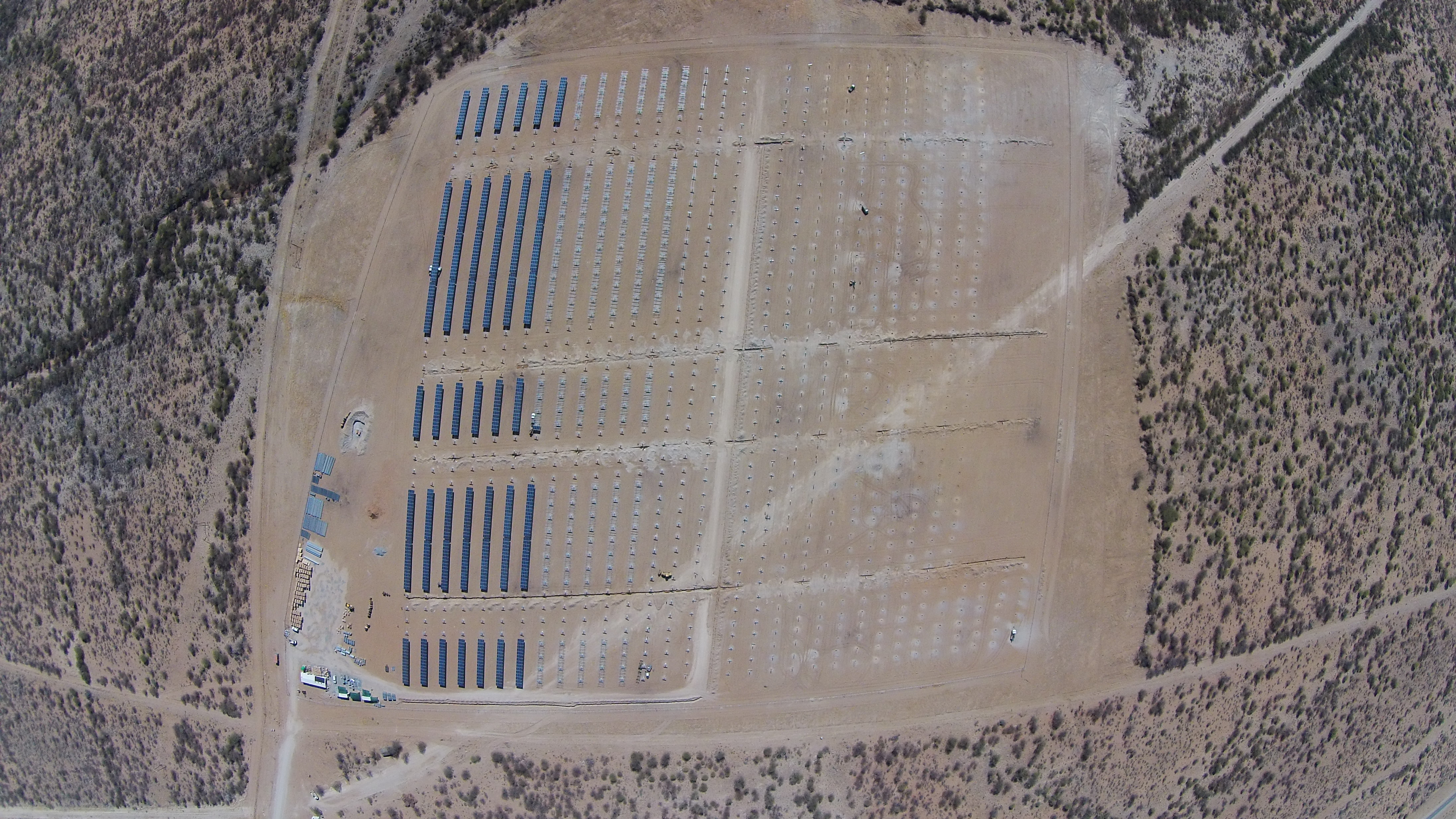 First rows aerial