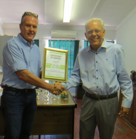 Andreas Brueckner – 29 years and farewell for retirement
